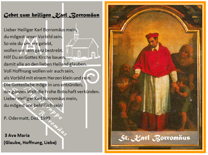 Karl Borromäus Gebet
